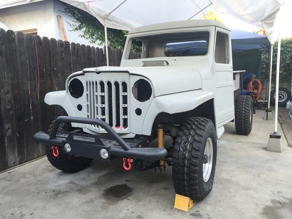John Rodriguez' Willys Truck