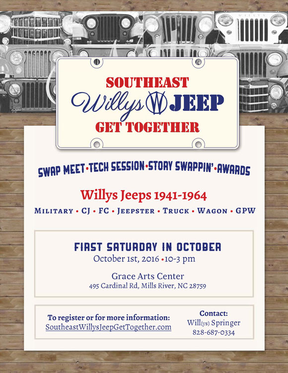 South East Willys Jeep Get Together