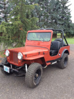 Randy Hoagland's 1953 Willys CJ-3A