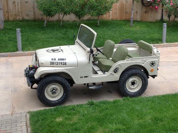 Gultekin Telgeren's 1965 CJ-5