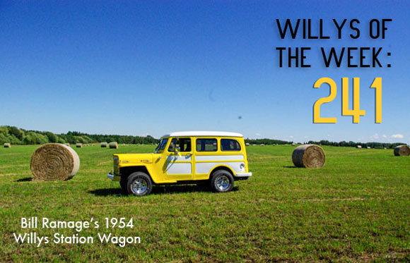 Bill Ramage - Willys of the Week: 241