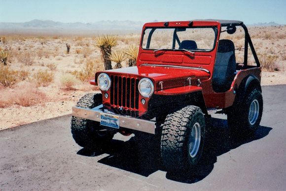 Ed Milliken's 1946 Willys CJ-2A