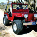 A Willys Jeep Made for Desert Fun and Car Shows