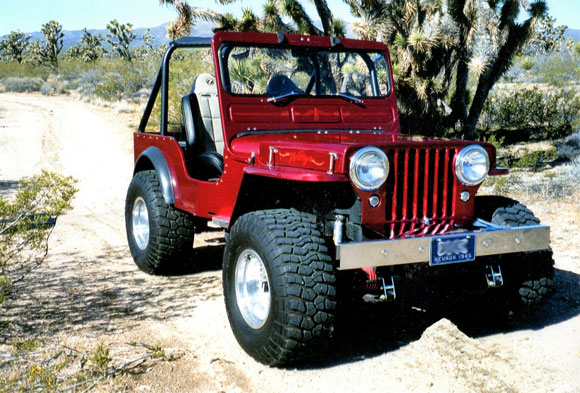 A Willys Jeep Made For Desert Fun And Car Shows Kaiser Willys - Jeep car show near me