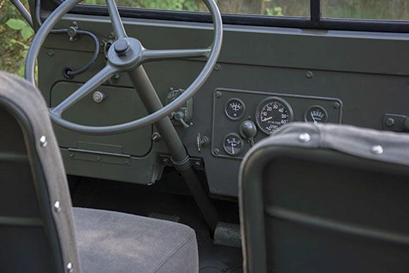 Ronald Jones' 1953 Willys M38A1