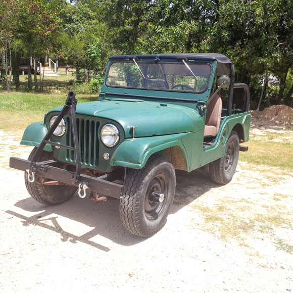 L.H. Chollett's 1962 CJ-5