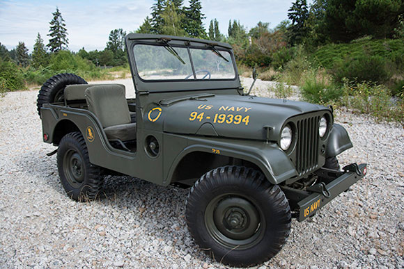 Ronald Jones' 1953 Willys M38A1