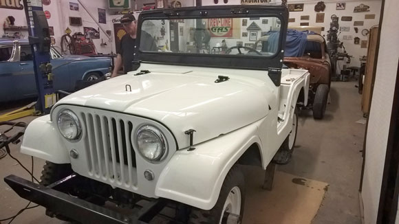 Keith Tucker's 1962 CJ-5