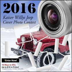 2016 Kasier Willys Jeep Photo Contest