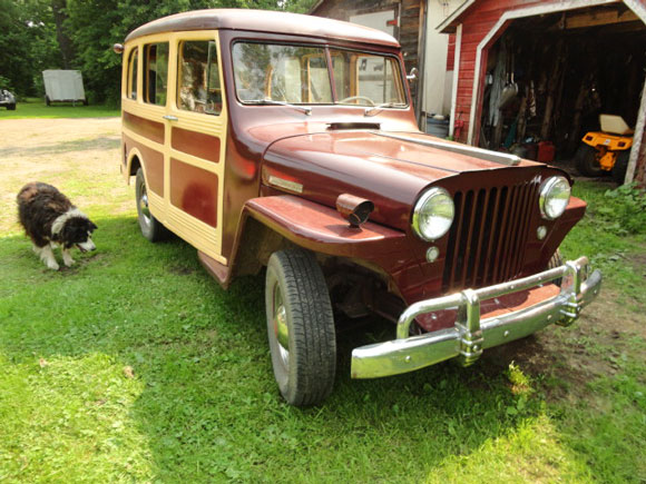 Warren Sjoberg's 1948 Willys Station Wagon