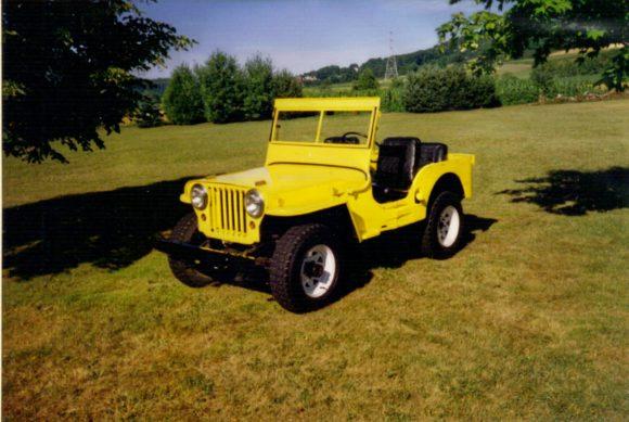 Brittany Turnbaugh's 1947 Willys CJ-2A