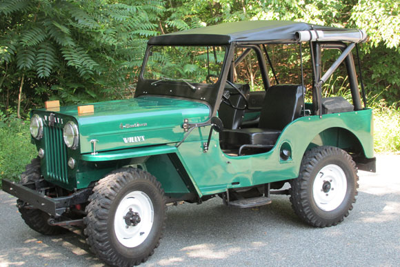 Steve Scherer's 1954 Willys CJ-3B