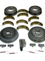 "brake2 - Complete Master Brake Kit 9"" For 41-48 MB, GPW, CJ-2A before serial number #215649"