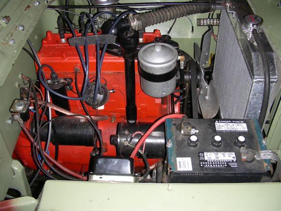 Dave Minnich 1946 Willys CJ-2A