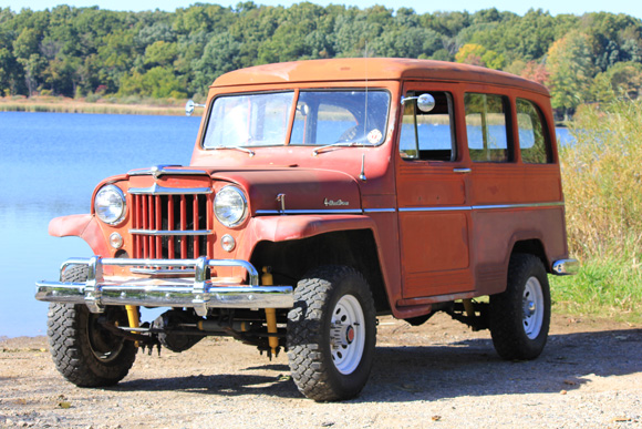 Andrew Campbell's 1958 Willys Wagon