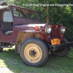 A Willys CJ-2A Kept Original and Enjoyed by the Family