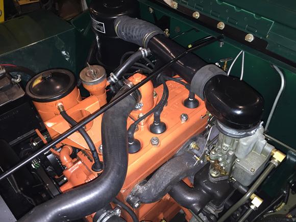 Doug Mehki's 1950 Willys CJ-3A