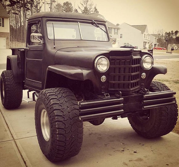 Maverick Sprowles - 1951 Willys Truck