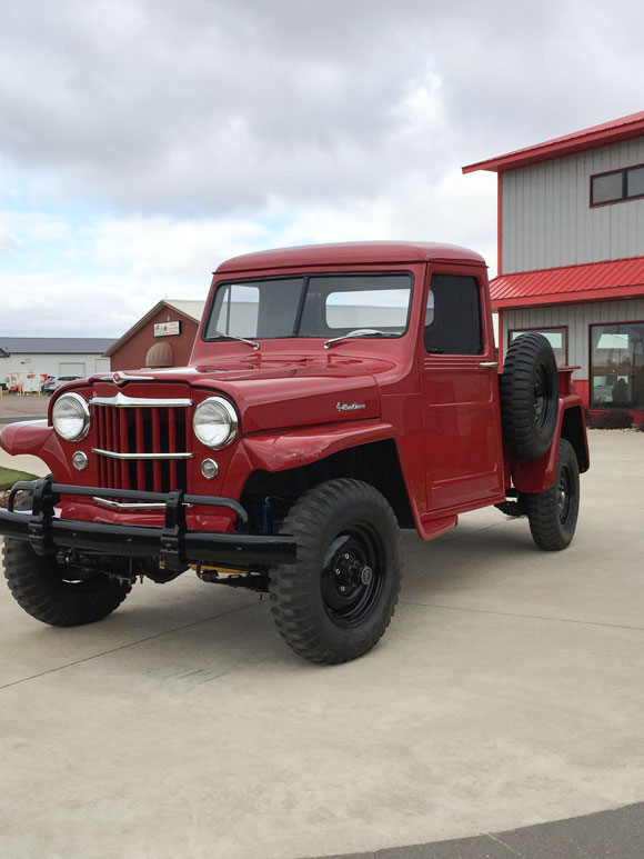 Tom Brandt's 1954 Willys Truck