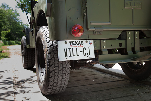 Will Crooks 1947 Willys CJ-2A