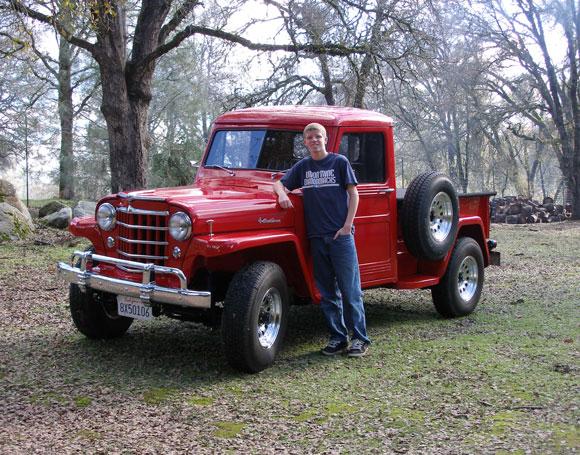 Steven Haugaard's 1953 Willys Truck