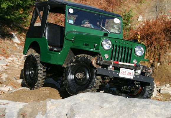 Mark Fisher's 1953 Willys CJ-3B