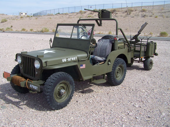Phillip Hurst's 1947 Willys CJ-2A