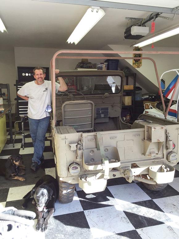 Rodney Grabenhorst's 1952 Willys M38