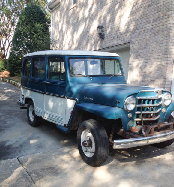 Harold Estes' 1961 Willys Station Wagon