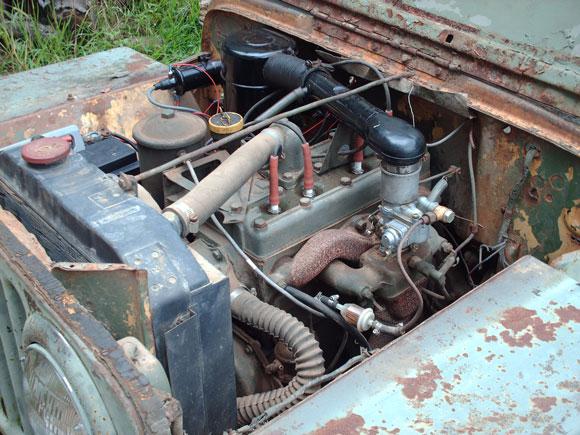 Jessica Hendrix's 1947 Willys CJ-2A