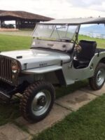 Nelson Gil's 1949 Willys CJ-2A