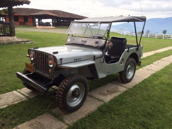 Nelson Gil's 1949 Willys CJ-2A