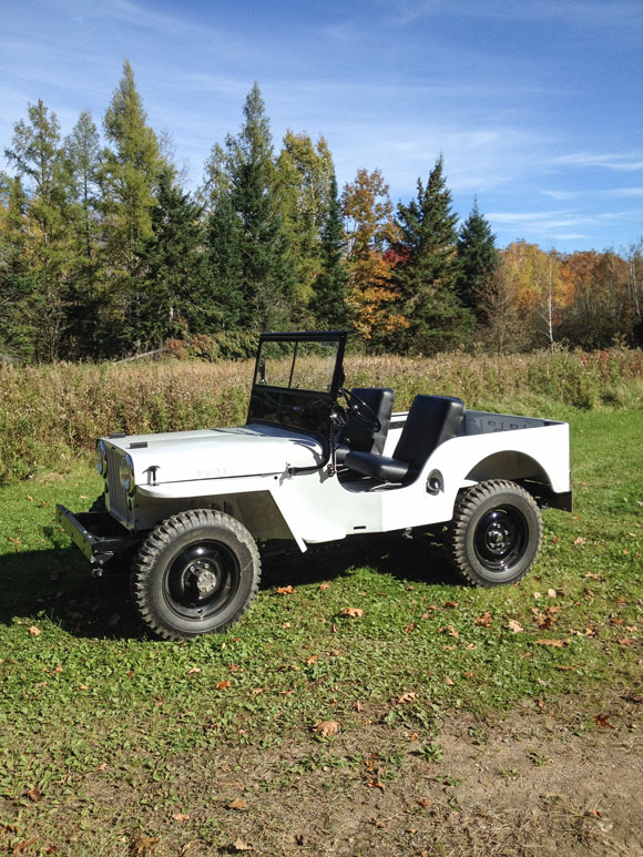 Randy Souter's 1946 Willys CJ-2A