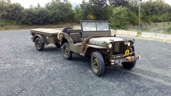 Guiseppe Franchi 1944 Composite Willys Jeep