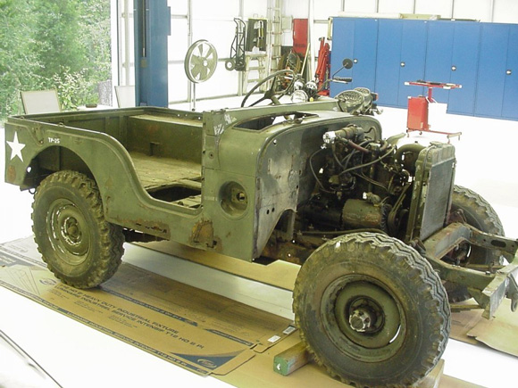 Kenneth Droll's 1953 Willys M38A1 Complete Restoration