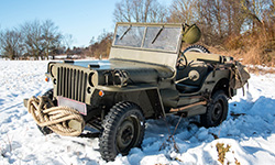 Morten F. Hansen - 1944 Willys MB