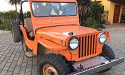 Peter Boatell - 1951 Willys CJ-3A