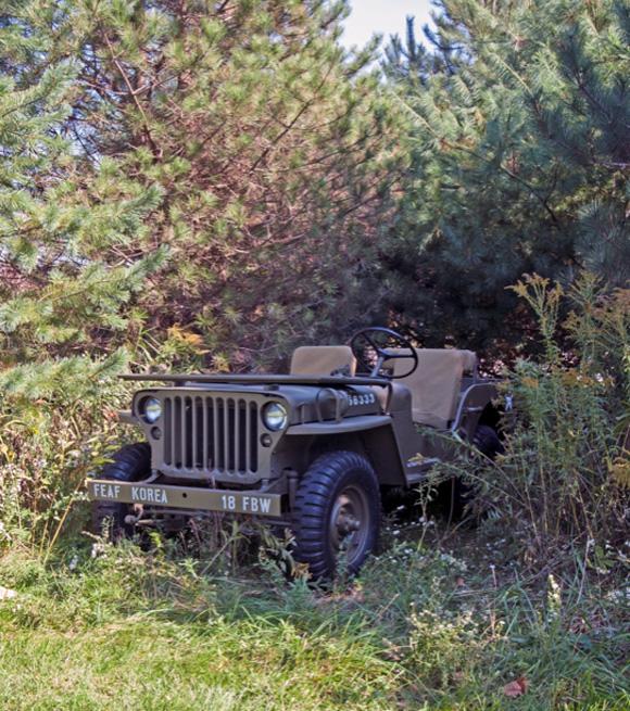 Floyd McNaull's 1947 Willys CJ-2A