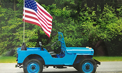Richard A. Baker's 1946 Willys CJ-2A