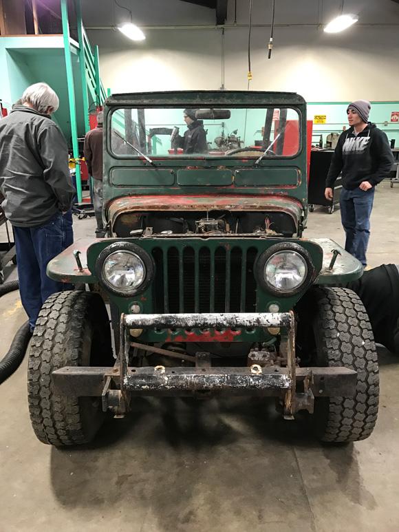 Jack Kluver's 1951 Willys CJ-3A