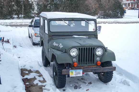 Joel Merrill's 1956 Willys CJ-5