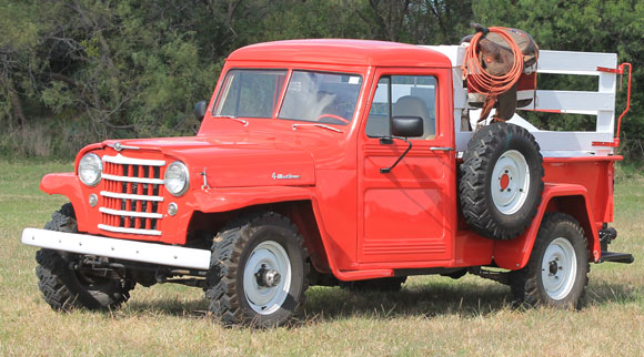 Neal Hughs' 1956 Willys Pickup