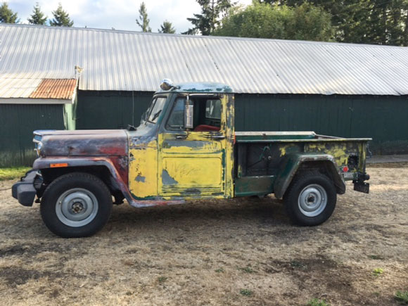 Rus Swartling's 1956 Willys Truck