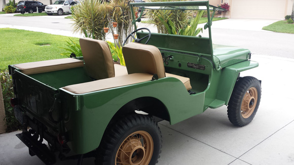 Jason Bryan's 1946 Willys CJ-2A