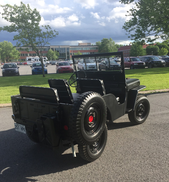 Stephane Dumberry's 1947 Willys CJ-2A