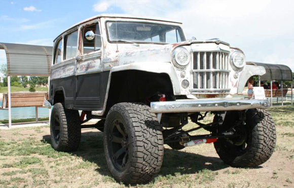 Will Laver's 1964 Willys Station Wagon