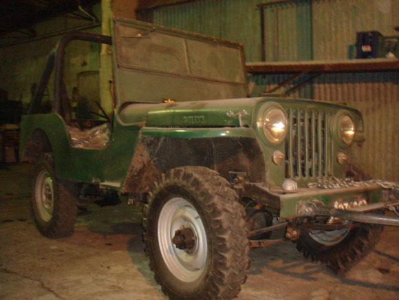 Jorge Andres Gomez' 1946 CJ-2A