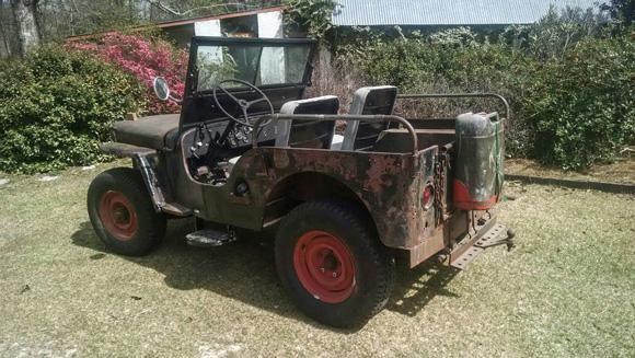 Glenn Saborosch's 1949 Willys CJ-2A