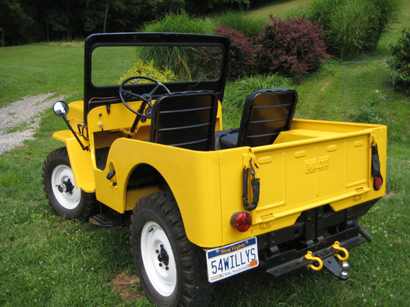Doug Maxson's 1954 Willys CJ-3B