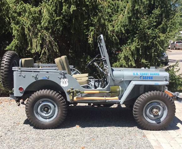 Michael Elliott's 1951 Willys M38